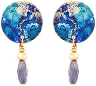Design Studio Odell Mini Drop Earrings Twilight
