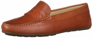 Driver Club Usa Women's Leather Made in Brazil Naples 2.0 Penny Driver Moc Loafer