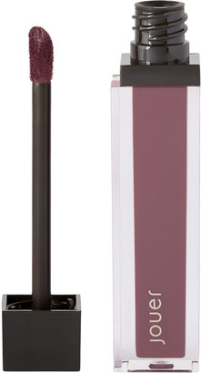 Jouer Cosmetics Long Wear Lip Creme Liquid Lipstick Aubergine