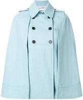 Valentino trench cape coat