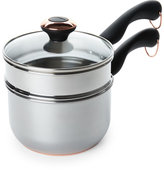 Farberware 2-Quart Stainless Steel Saucepan with Double Boiler