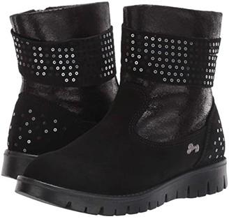Primigi PRO 43786 (Little Kid) (Black) Girl's Shoes