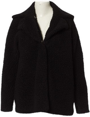 Balenciaga Black Faux fur Coat for Women