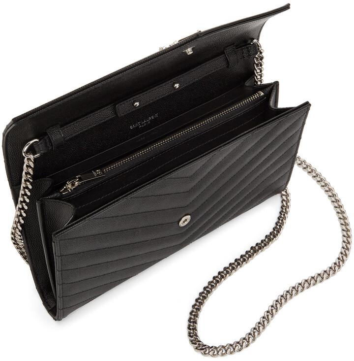 Thumbnail for your product : Saint Laurent Black Monogramme Chain Wallet Bag