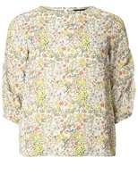 Ditsy Floral Puff Top