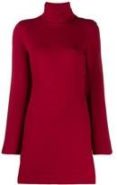 Sara Battaglia turtleneck jumper dress