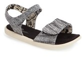 Toms Toddler Girl's 'Strappy' Sandal