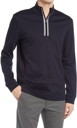 HUGO BOSS Tenore 11 Quarter Zip Sweatshirt