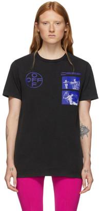 Off-White Black Hardcore Caravaggio Slim T-Shirt