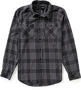 Hurley Long-Sleeve Landon Flannel Plaid Shirt
