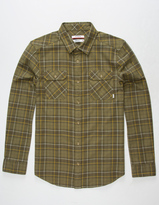 Nixon Lewis Mens Flannel Shirt