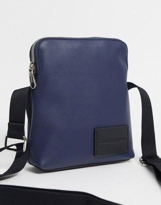 Calvin Klein Jeans micro pebble micro reporter bag