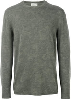 Etro light floral embroidery sweatshirt - men - Wool - M