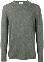 Etro light floral embroidery sweatshirt