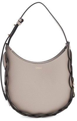Chloé Small Darryl Leather Hobo Bag