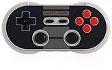 8Bitdo NES30 Pro Wireless Bluetooth Controller Dual Classic Joystick for iOS Android Gamepad PC Mac Linux(Black)