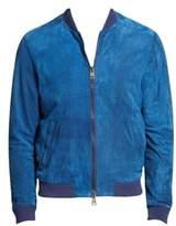 Etro High Tide Leather Bomber Jacket