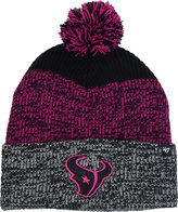 '47 Houston Texans Static Cuff Pom Knit Hat
