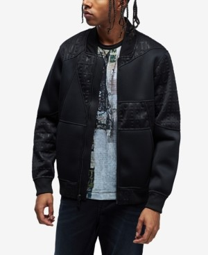 True Religion Men's Tonal Logan Bomber Jacket