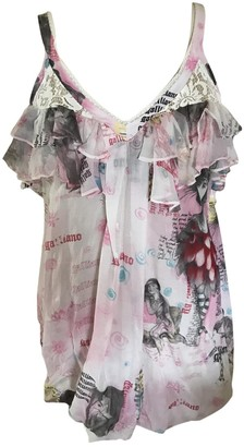 John Galliano Multicolour Cotton Dresses
