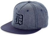 American Needle Indigo Detroit Snapback Hat