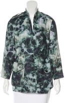 Raquel Allegra Linen Tie-Dye Jacket