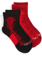 adidas Boy's Frequency 2-Pack Socks