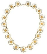 Georg Jensen Enamel Daisy Necklace