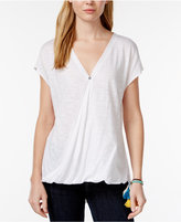 Rachel Roy Cap-Sleeve Wrap T-Shirt