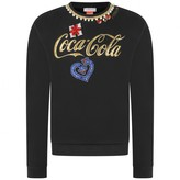 Pinko PinkoGirls Black Embellished Sweater