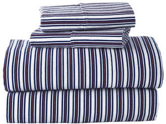G.H. Bass Canyon Stripe Queen Sheet Set