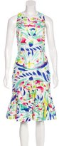 Peter Pilotto Watercolor Printed Midi Dress