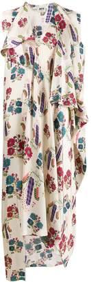 Maison Rabih Kayrouz Ottoman floral print dress