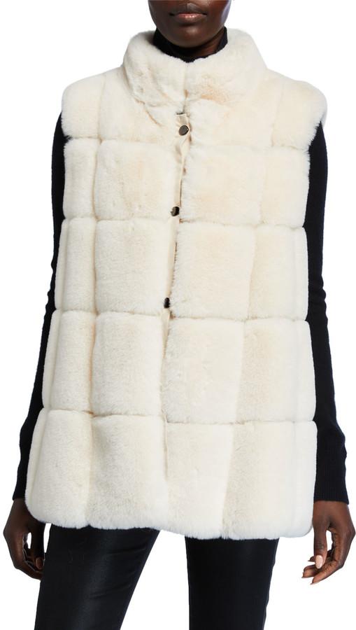 Belle Fare Modern Faux Fur Vest