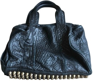 Alexander Wang Rocco Black Exotic leathers Handbags