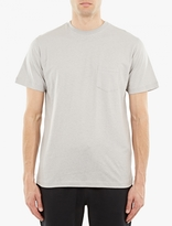 Sunspel Grey Cotton T-shirt