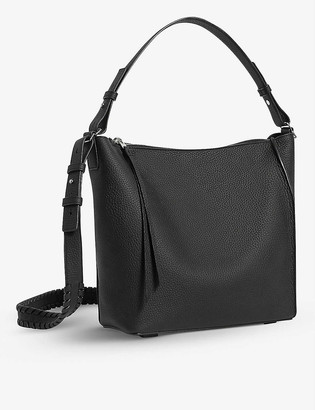 AllSaints Kita leather cross-body bag