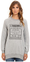 BCBGeneration L/S Round Neck Sweater Top UWZ1S824