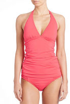 Tommy Bahama Pearl Shirred Halter Tankini Top