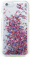 Kate Spade Shake Things Up Liquid Glitter iPhone 6/6s Case