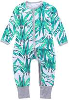 Kids Tales Baby Boys Girls Autumn Long Sleeve Print Romper One Bodysuit