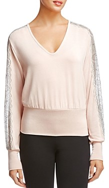 Bailey 44 Cora Lace Trim Top