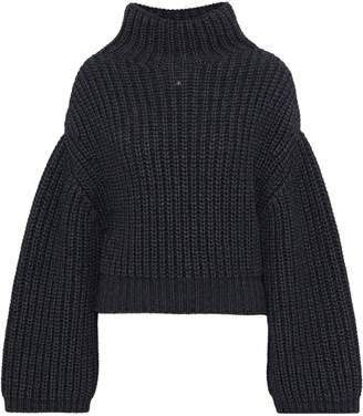 Lanvin Oversized Ribbed-knit Turtleneck Sweater