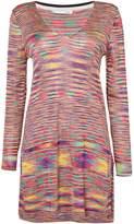 Oui V-neck stripe tunic