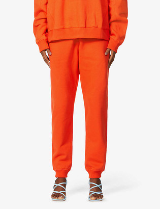 Fenty by Rihanna Tapered high-rise cotton-jersey jogging bottoms
