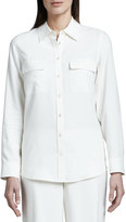 Go Silk Safari Silk Shirt, Petite