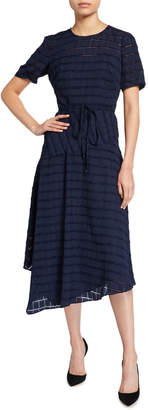 Maggy London Loose-Fitting Asymmetric Dress