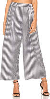 KENDALL + KYLIE Shirting Pant in Black & White. - size S (also in )