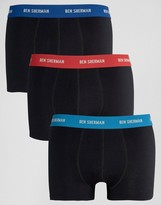 Ben Sherman 3 Pack Boxers