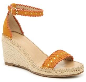 Adrienne Vittadini Charming Espadrille Wedge Sandal